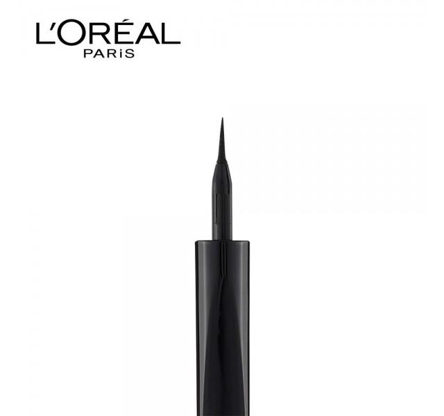 خط چشم ضد آب لورال L'Oreal Paris Super Liner Black Lacquer Eyeliner