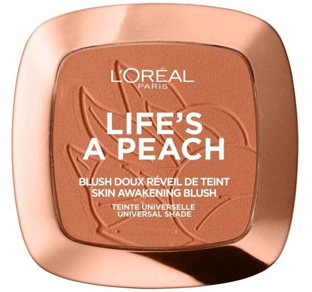 رژگونه لورال L'Oreal Paris Life's A Peach Skin Awakening Blush