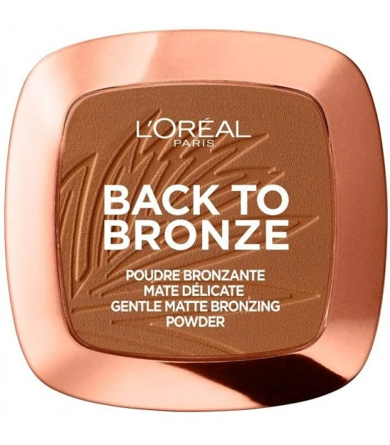 برنزر لورال L'Oréal Paris Matte Bronzing Powder Back To Bronze