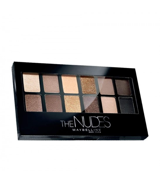 پالت سایه نود میبلین Maybelline Eyeshadow Palette The Nudes