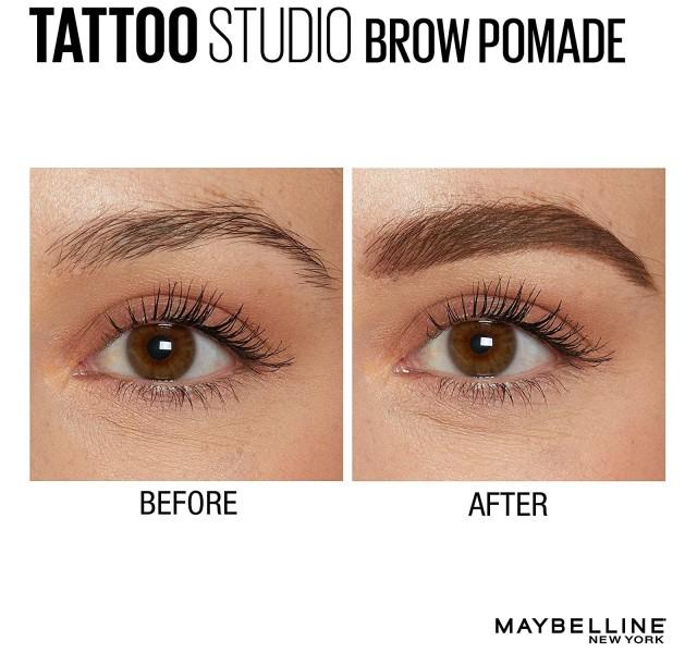 سایه ابرو میبلین Maybelline Tattoostudio Brow Pomade Long Lasting