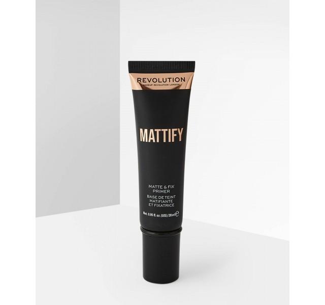 پرایمر مات کننده رولوشن REVOLUTION Matte & Fix Mattify Priimer