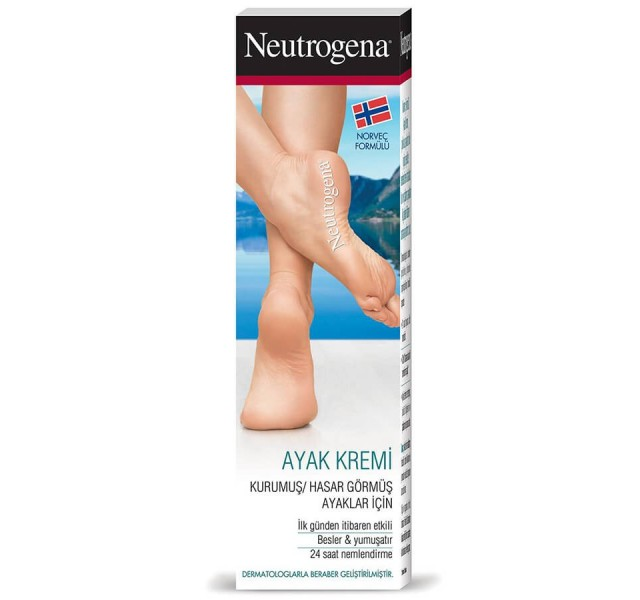 کرم ترک پا نوتروژینا Neutrogena Norwegian Formula Nourishing Foot Cream