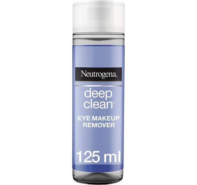 پک دو عددی محلول پاک کننده آرایش چشم نوتروژینا Neutrogena Eye Makeup Remover Deep Clean