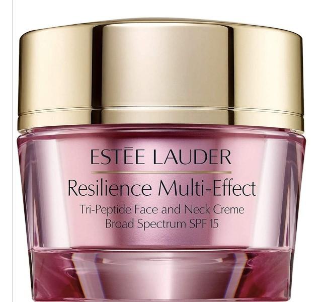 مرطوب کننده چند منظوره صورت و گردن استی لودر Estee lauderResilience MultiEffect Tri Peptide Face and Neck Creme