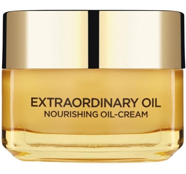 کرم معجزه آسا صورت روزانه لورال L'Oreal Paris Extraordinary Nourishing Oil