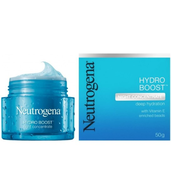 کرم شب آبرسان نوتروژینا Neutrogena Hydro Boost Night Concentrate Cream