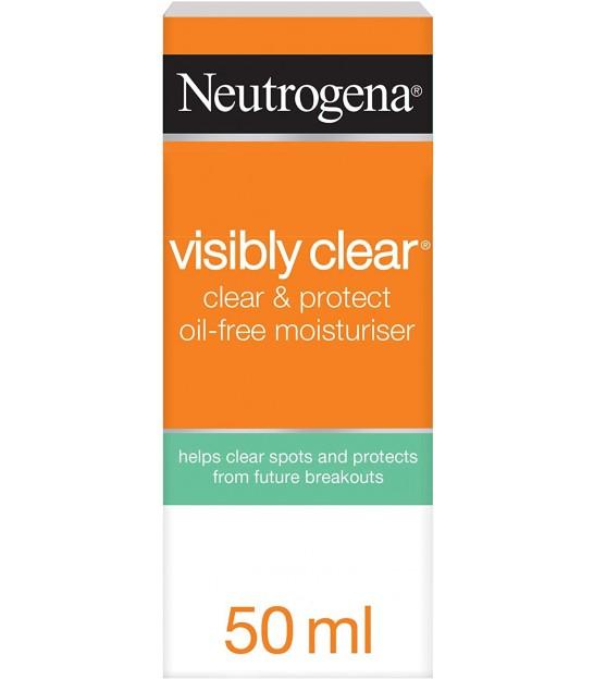 کرم مرطوب کننده صورت بدون چربی نوتروژینا Neutrogena Visibly Oil Free Moisturizing Cream