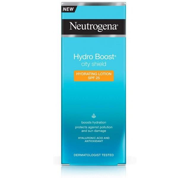 مرطوب کننده صورت نوتروژینا Neutrogena Hydro Boost City Shield Hydration Lotion Spf25