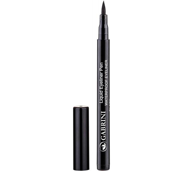 خط چشم ماژیکی گابرینی Gabrini Liquid Black Eyeliner Pen