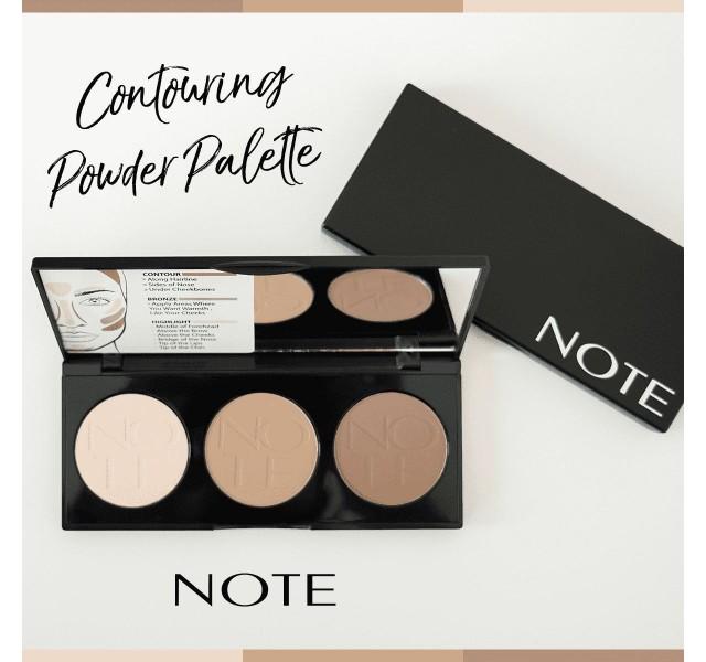 پالت کانتور کرمی نوت 01 Note Cosmetics Cream Contour Palette