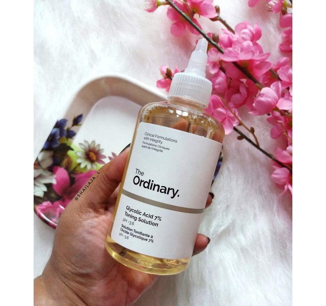 تونر گلیکولیک اسید اوردینری The Ordinary Glycolic Acid 7% Toning Solution