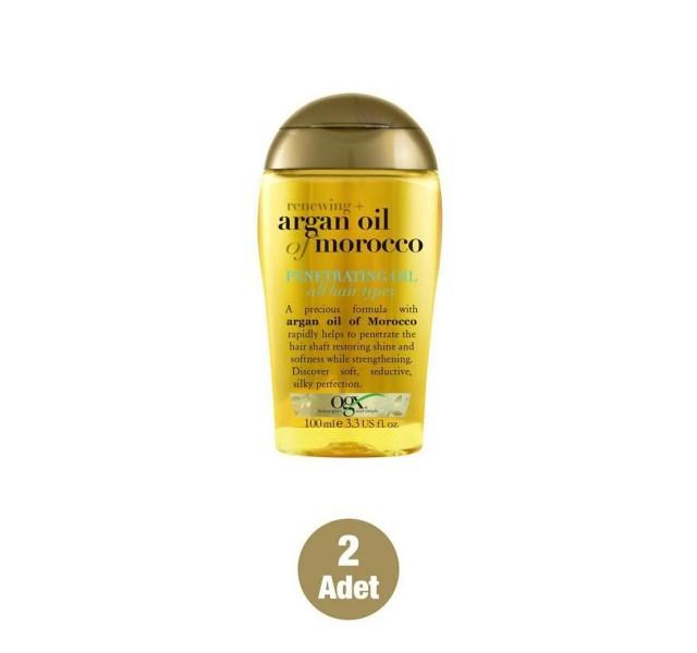 پک دو عددی روغن مو آرگان او جی ایکس OGX Organix Oil Extra Argan