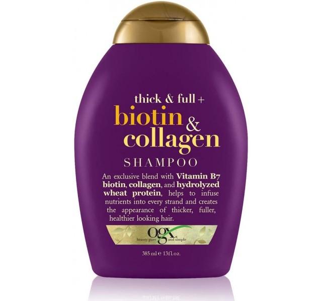 شامپو بیوتین او جی ایکس OGX Biotin & Collagen Shampoo