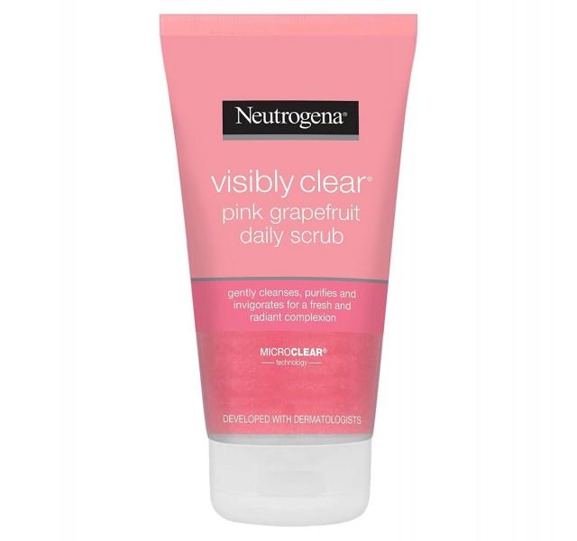 اسکراب صورت گریپ فروت نوتروژینا Neutrogena Visibly Clear Daily Scrub