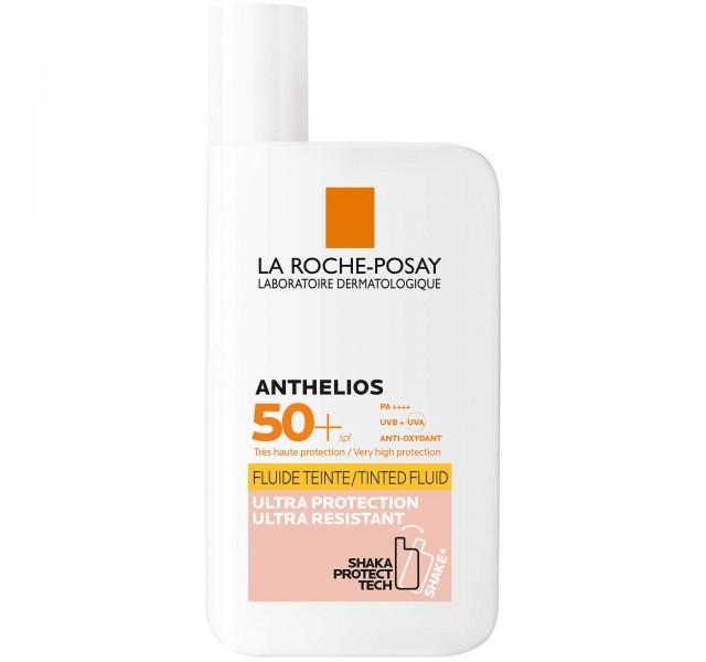 فلویید ضد آفتاب رنگی لاروش پوزی La Roche Posay ANTHELIOS INVISIBLE TINTED FLUID SPF50