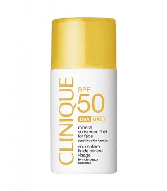 فلوئید ضد آفتاب کلینیک Clinique Mineral Sunscreen Fluid for Face SPF 50