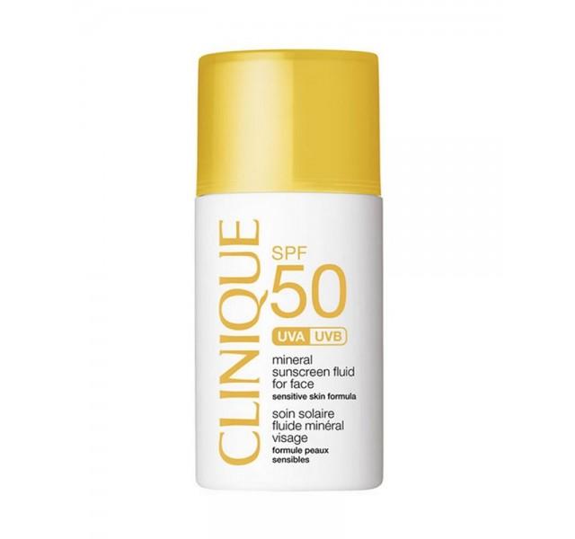 فلوئید ضد آفتاب کلینیک Clinique Mineral Sunscreen Fluid for Face SPF 50