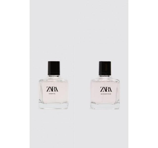 ست دو عددی عطر زنانه زارا ZARA WONDER ROSE + ORIENTAL 100 ML
