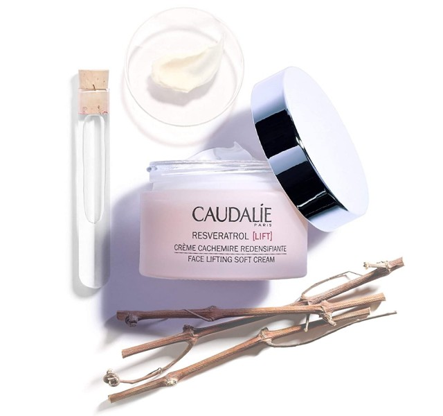 کرم روز لیفتینگ کدلی Caudalie Resveratrol Lift Face Lifting Soft Cream