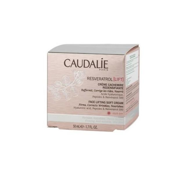 کرم روز لیفتینگ کدلی 50 میل Caudalie Resveratrol Lift Face Lifting Soft Cream