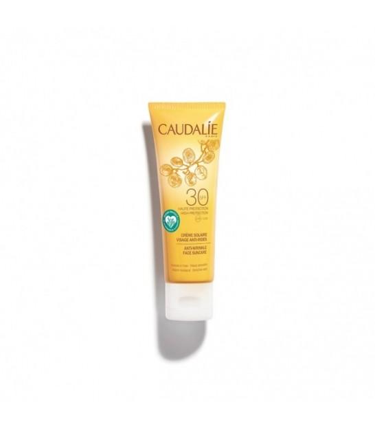 کرم ضد آفتاب ضد چروک کدلی 50 میل Caudalie Sunscreen Anti Wrinkle Spf 30