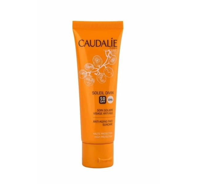 کرم ضد آفتاب کدلی 40 میل Caudalie Sunscreen Anti Wrinkle Spf50