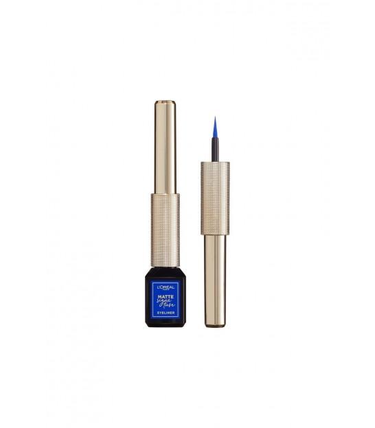 خط چشم مایع آبی لورال L'Oréal Matte Signature Eyeliner
