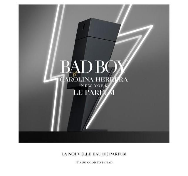 عطر مردانه بد بوی له پرفیوم Carolina Herrera BAD BOY LE PARFUM