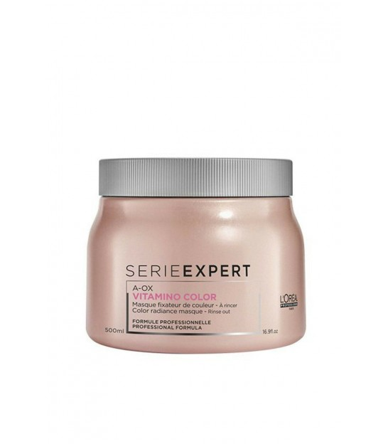 ماسک مو ویتامینه سری اکسپرت لورال L'Oreal Serie Expert Vitamino Color A-Ox Hair Masque