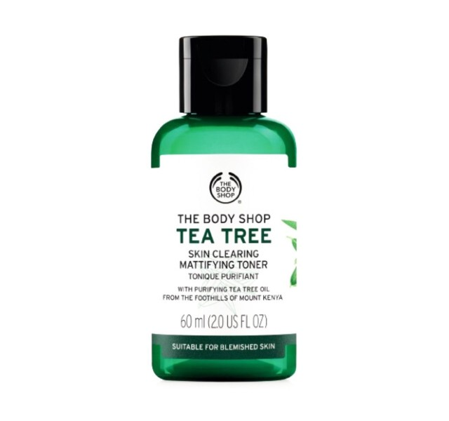 تونر چای سبز بادی شاپ 60 میل The Body Shop Tea Tree Toner