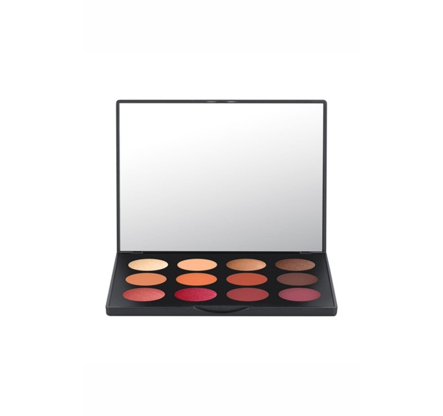 پالت سایه 12 رنگ مک - Eyeshadow Palette - Art Library