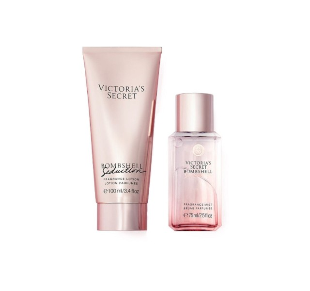 ست کادویی بامبشل ویکتوریا سکرت - Bombshell Seduction 75 Ml Body Spray + 100 Ml Body Lotion Gift Set